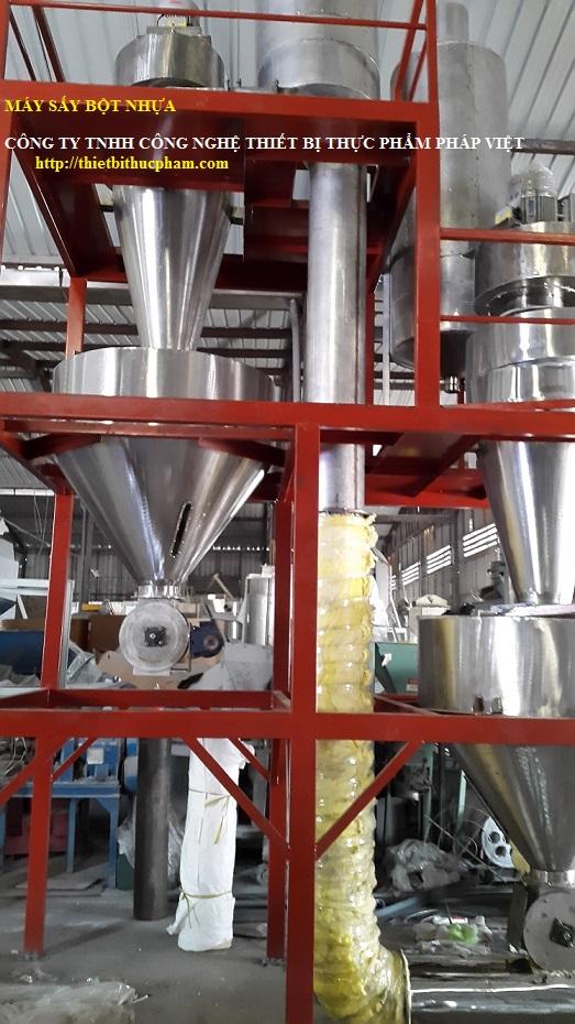 Máy sấy bột nhựa HDPE giá tốt nhất thị trường