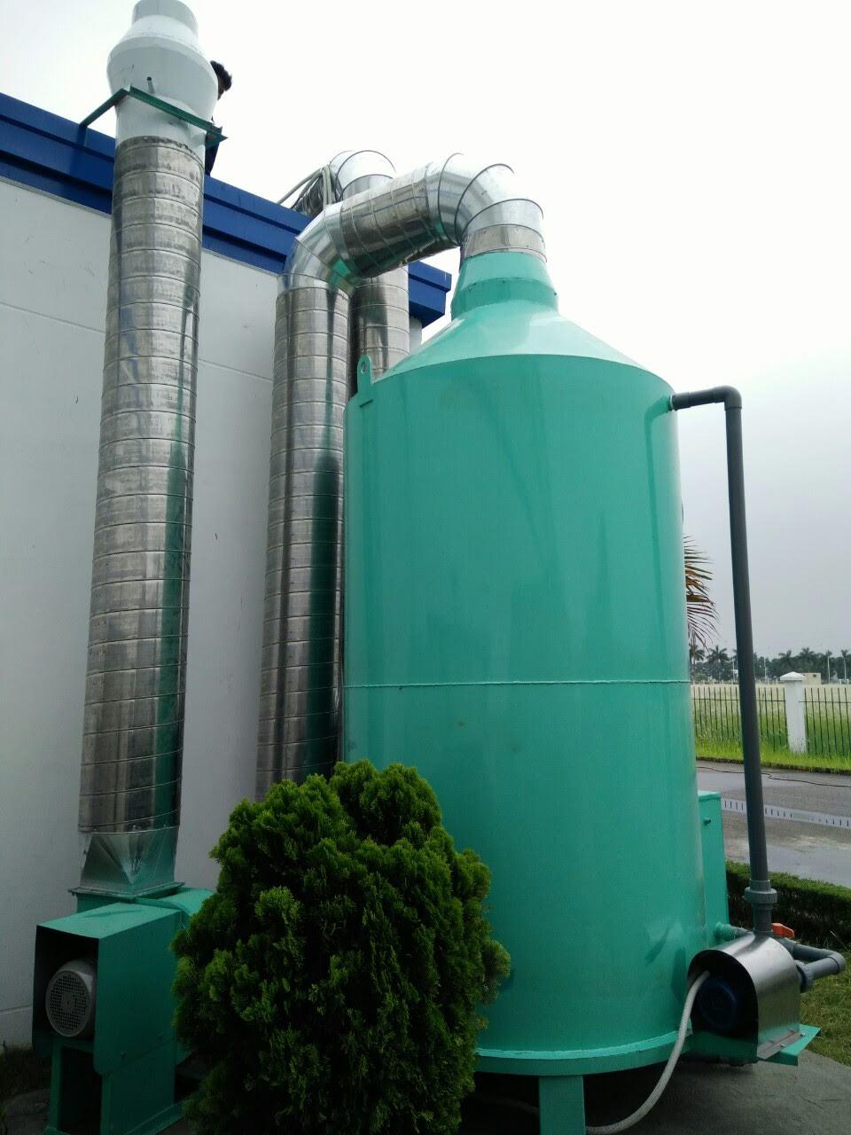 Tháp hấp thụ xử lý hơi axit
