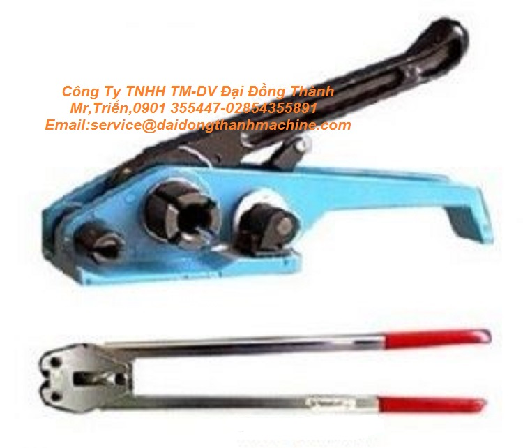 Dụng cụ siết dây đai pp, pet model B-330/C380