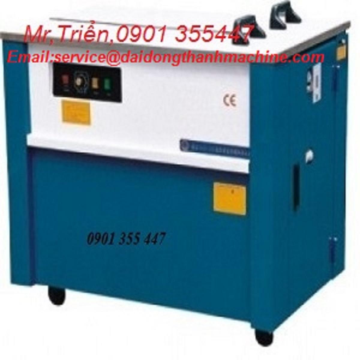 Máy buộc đai nhựa pallet bán tự động hàn nhiệt SP3 chính hãng Wellpack