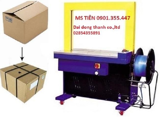 Máy đóng đai thùng tự động model DBA 200 (Taiwan) giá rẻ