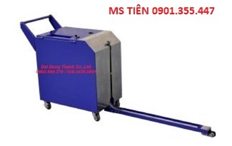 Máy đai niềng pallet hãng Wellpack model SP-3N (Made in Taiwan)