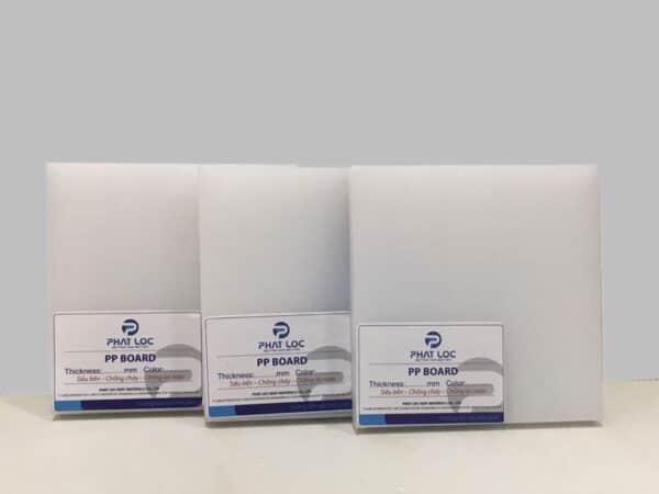 Tấm nhựa PP trắng – Phát Lộc sản xuất và phân phối
