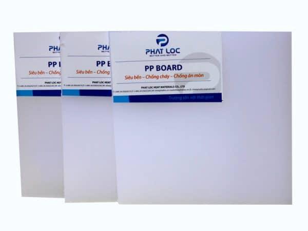 Tấm nhựa PP cứng độ dày 3mm đến 20mm