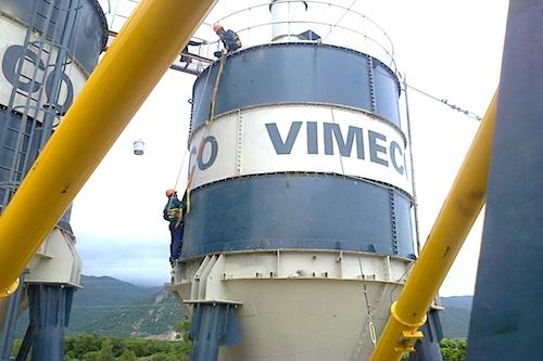 Trạm trộn bê tông xi măng VXC - 120m3/h
