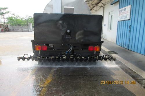 Xe phun tưới nhựa đường VXC - loại xe Thaco