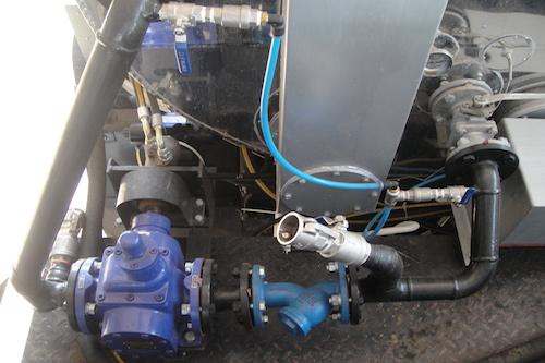 Xe phun tưới nhũ tương VXC - loại xe Thaco