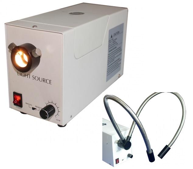 Nguồn lạnh halogen cho kính hiển vi 100W, 12V