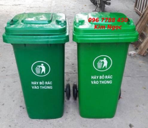 Thùng rác gia đình 120 lít