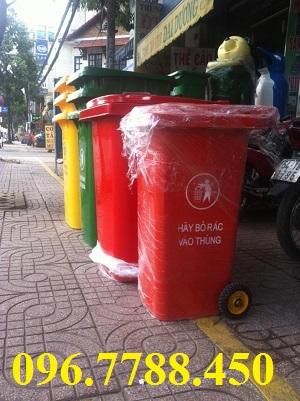 Thùng rác gia đình 240 lít