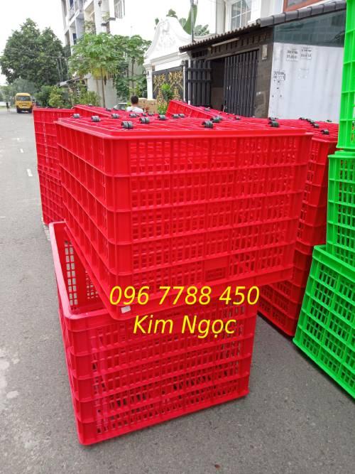 Sóng nhựa 26 bánh xe đựng hàng hóa các loại