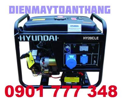 Máy phát điện Hyundai HY20CLE (1.7 - 2.0KW)