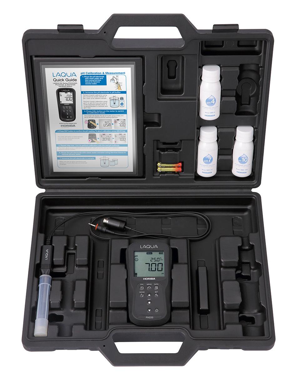 Máy đo pH và nhiệt độ