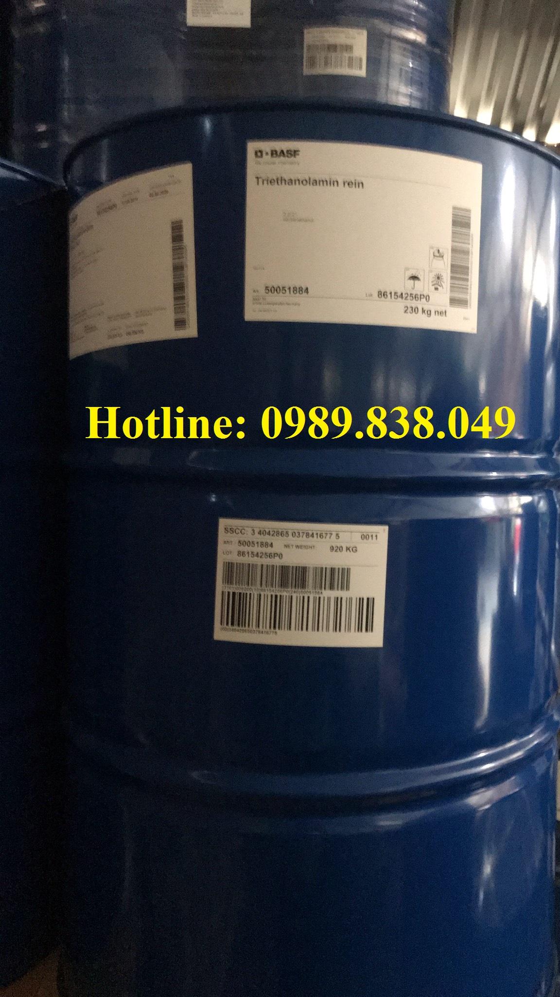 TEA- Triethanolamine- Hóa chất trợ nghiền