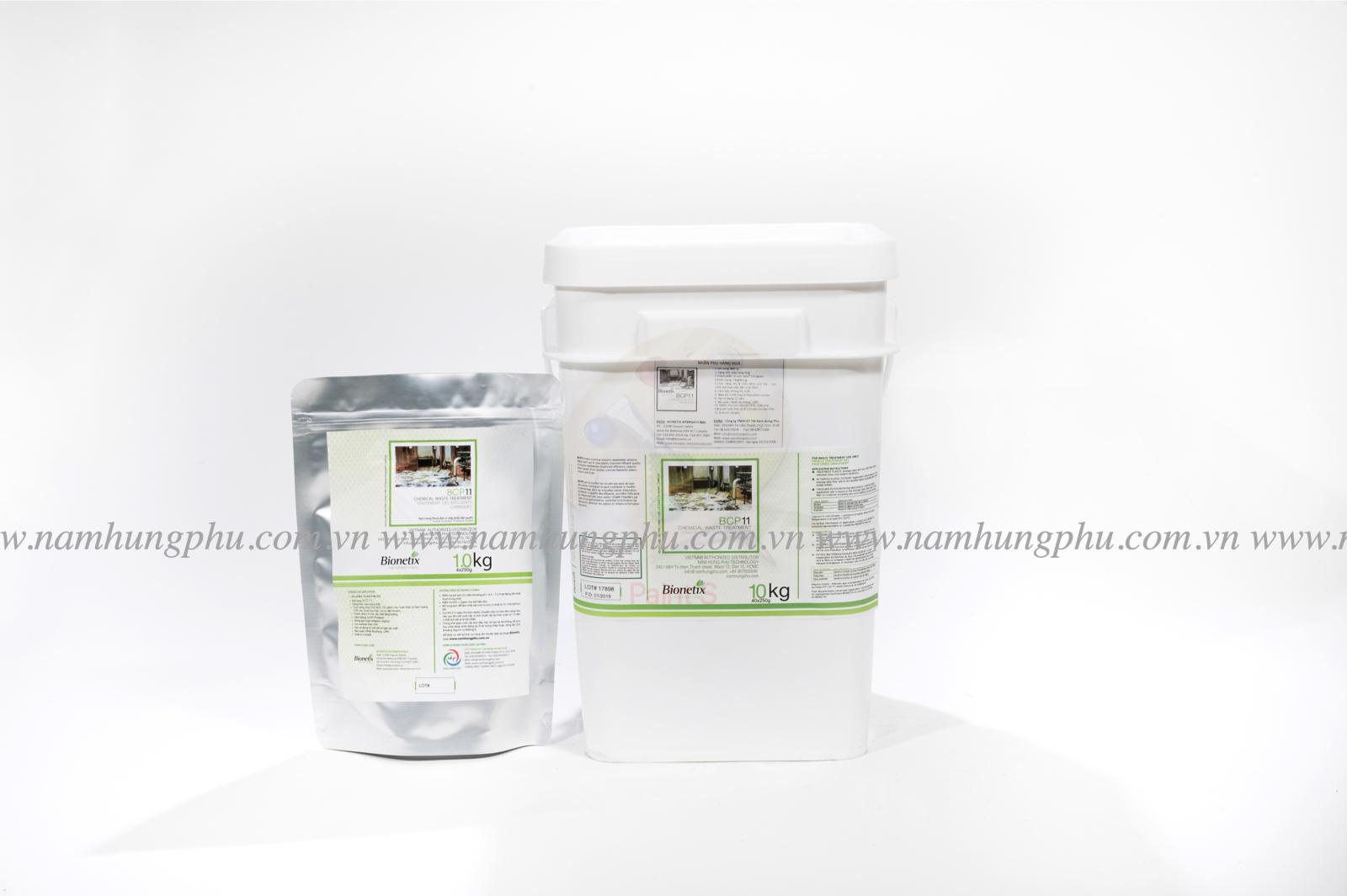 Chế phẩm vi sinh xử lý nước thải chứa hóa chất BCP11