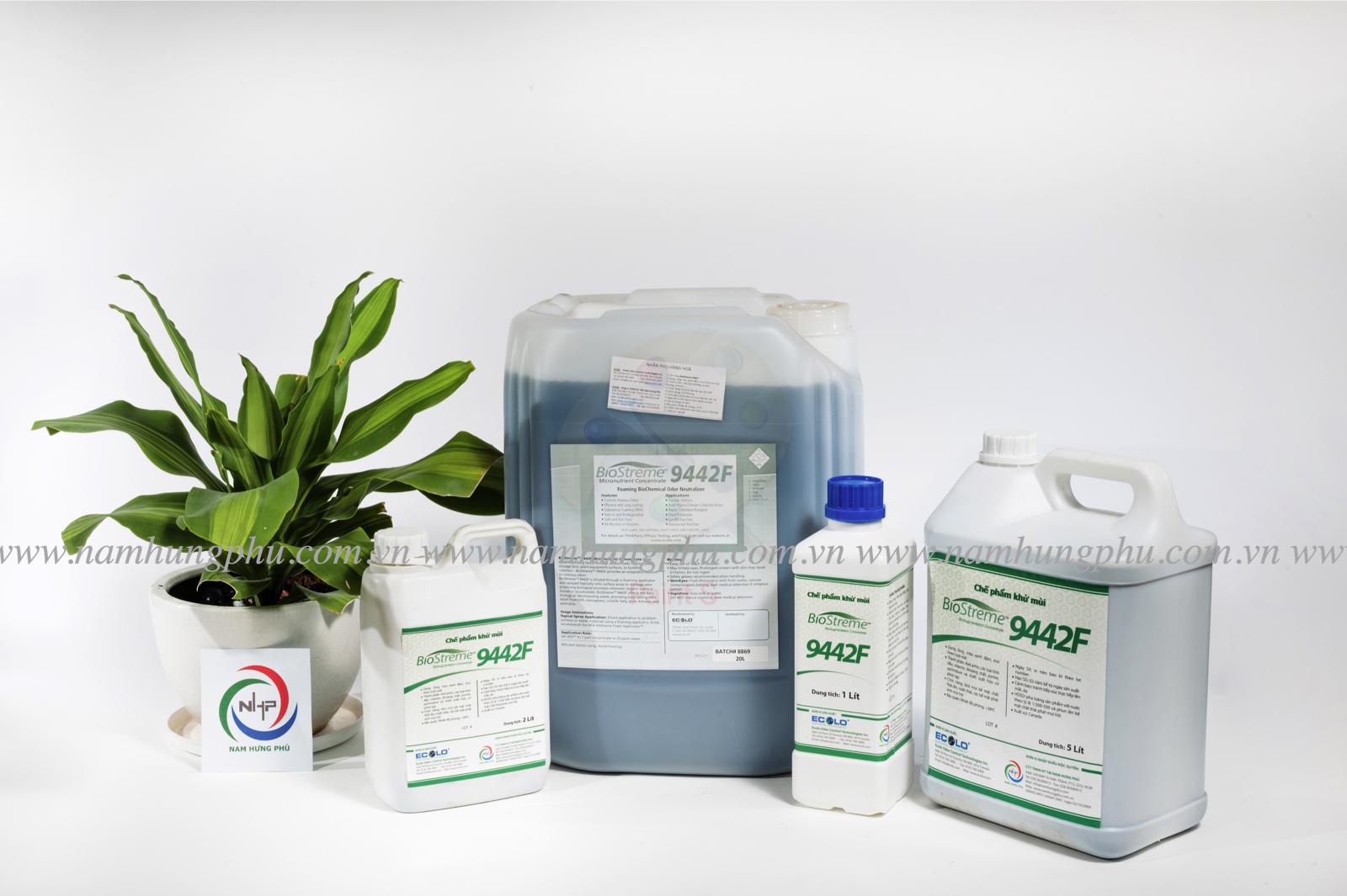Chế phẩm vi sinh khử mùi hôi bãi rác Biostreme9442F TH