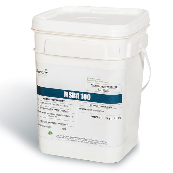 Chế phẩm vi sinh nước thải ao nuôi thủy sản MSBA100