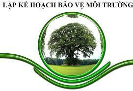 Dịch vụ lập kế hoạch bảo vệ môi trường