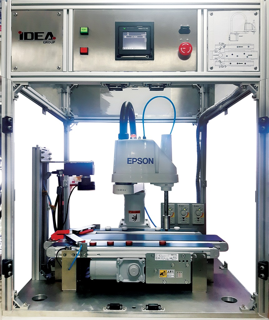 Máy phân loại sản phẩm tự động bằng Roboti - Robot Epson