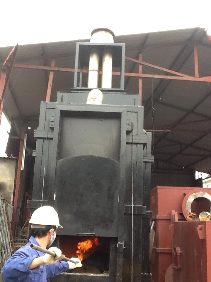 Lò đốt rác thải công nghiệp
