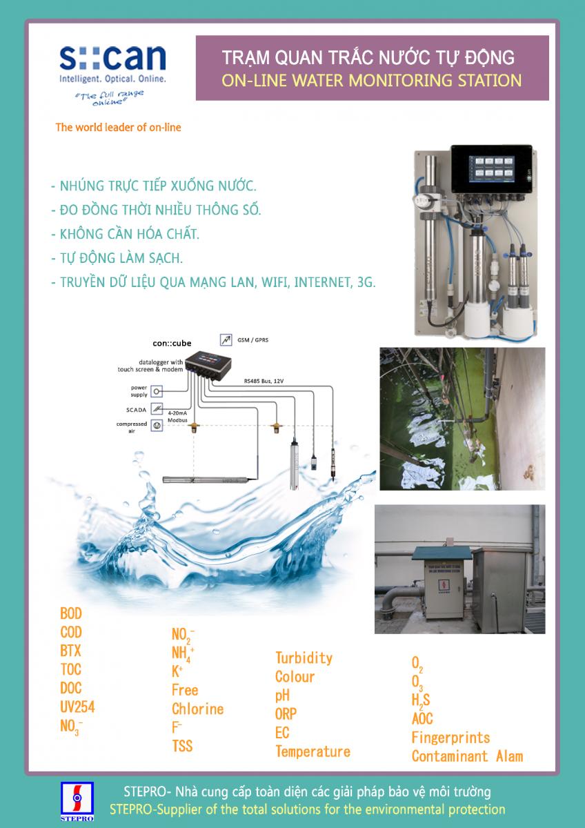 Thiết bị quan trắc nước thải