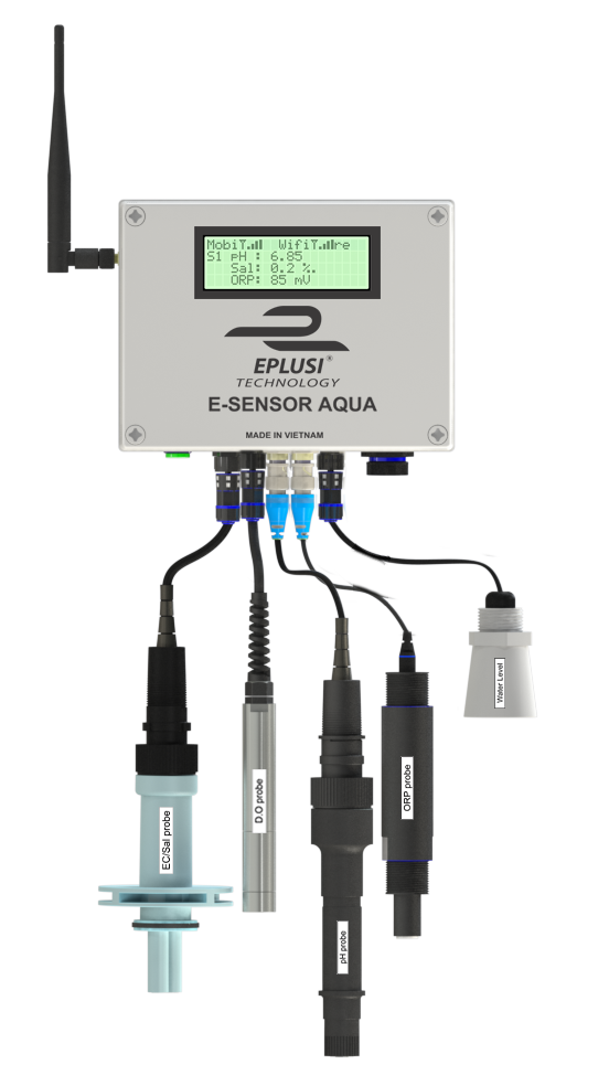 Thiết bị cảm biến E-Sensor® Aqua Gateway đo chất lượng nước