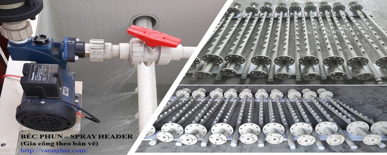 Bộ vòi phun nước rửa (SRPAY HEADER)