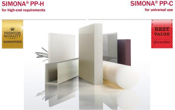 TẤM PP/PP-H/PE/PVDF/PVC SIMONA Đức