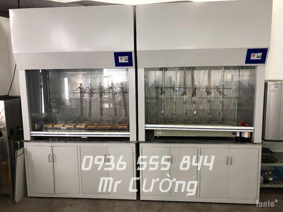 Tủ hút khí độc (Phòng LAB- Hóa lý)