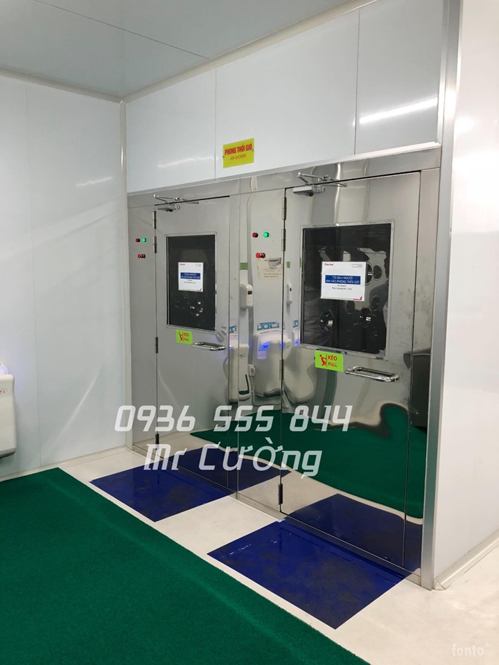Air shower phòng sạch model LN - AS1400B