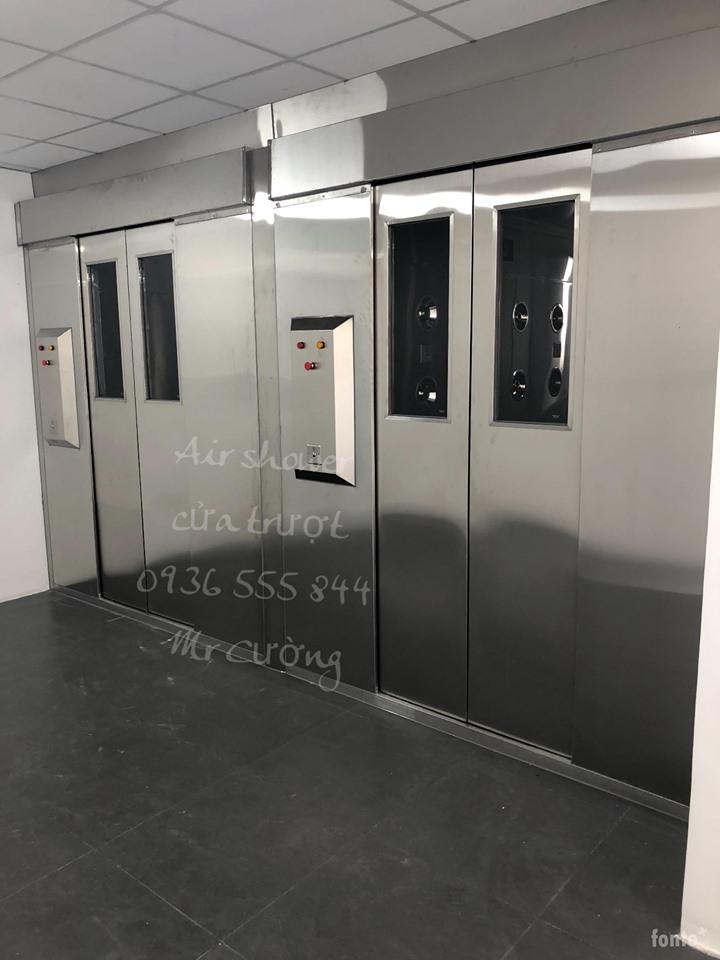 Air shower cửa trượt LN - AS3600