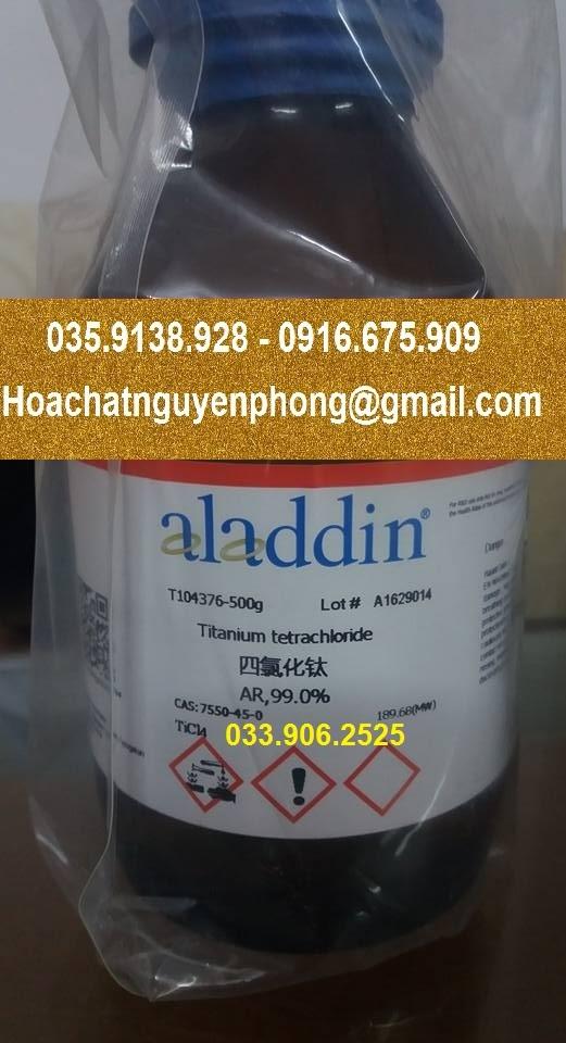 TiCl4 - Titanium(IV) chloride - Titanium tetrachloride