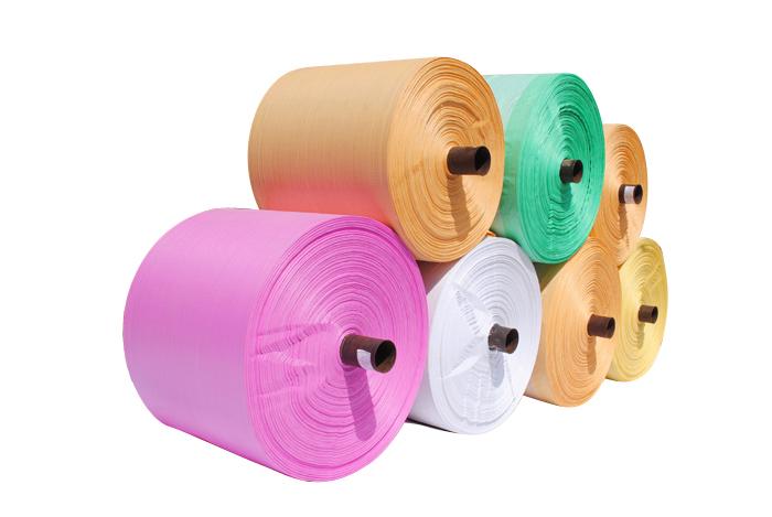 Vải bao cuộn PP dệt tròn