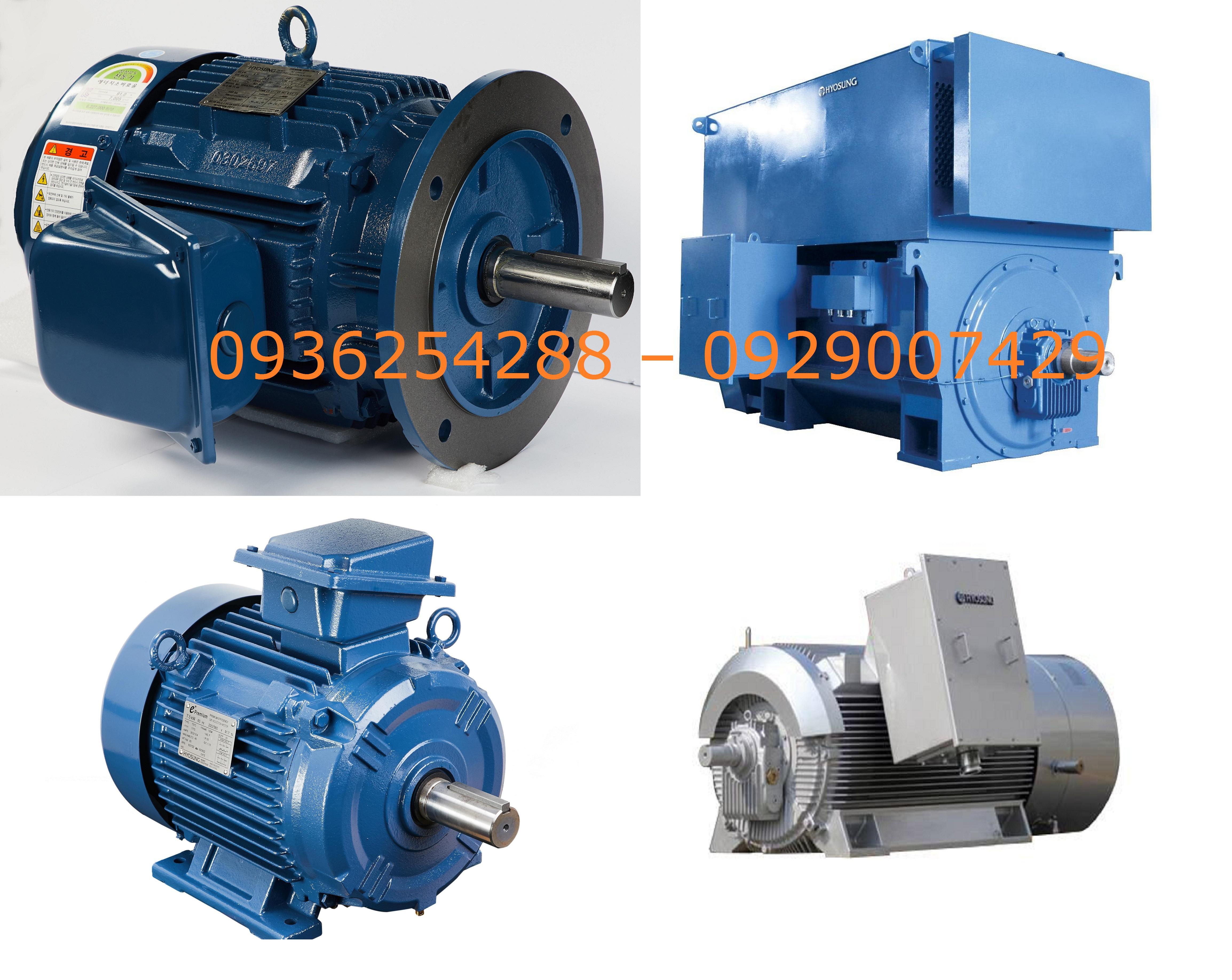 Động cơ HyoSung 3 pha 7.5-160 kW