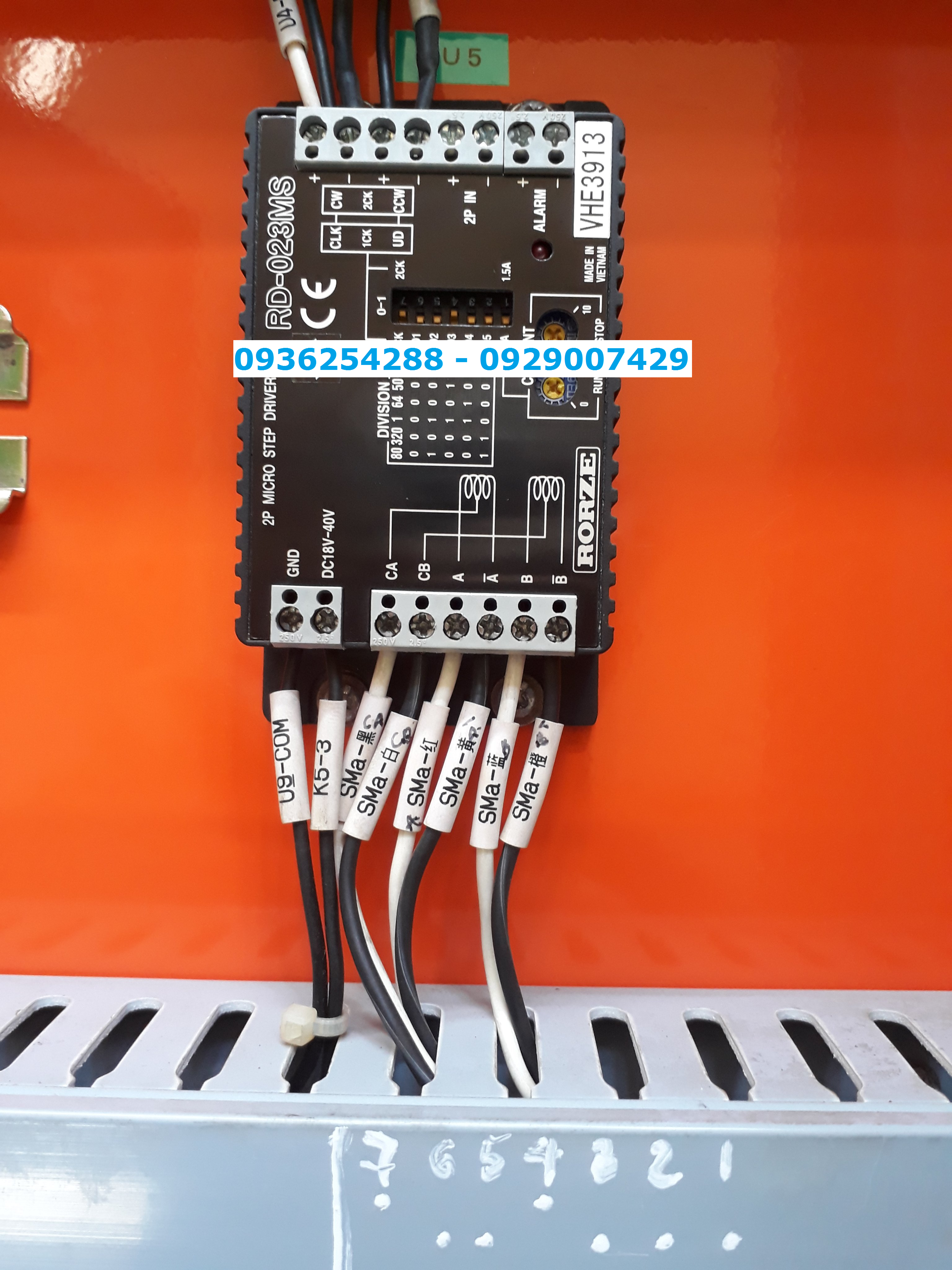 Trình điều khiển bước Rorze Mocro RD-023MS