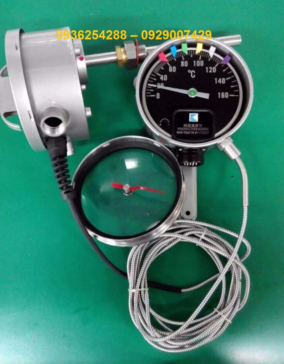 Đồng hồ đo nhiệt độ máy biến áp R6HX (BWR-906)