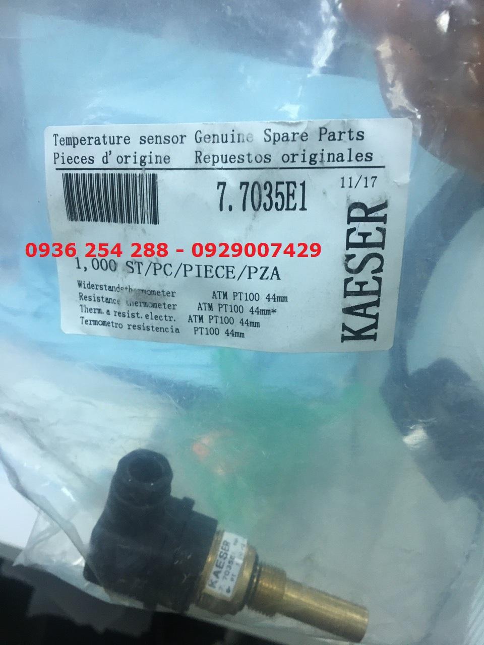Cảm biến nhiệt độ Kaeser 7.7035E1 cho máy nén khí