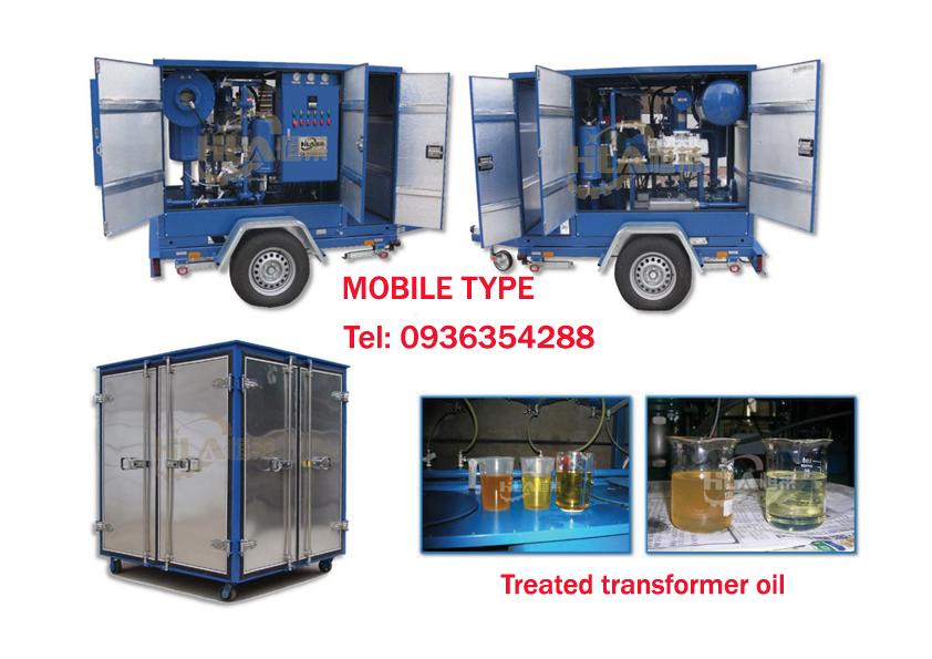 Máy lọc dầu ly tâm máy biến áp
