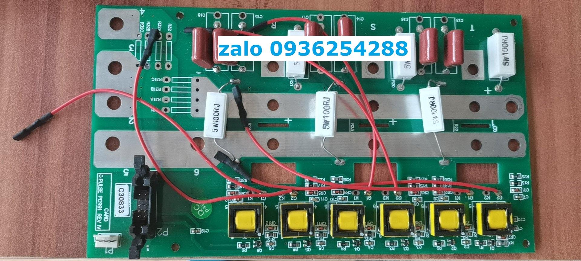 Mạch chỉnh lưu PC990 REV VI, PC991 REV IV
