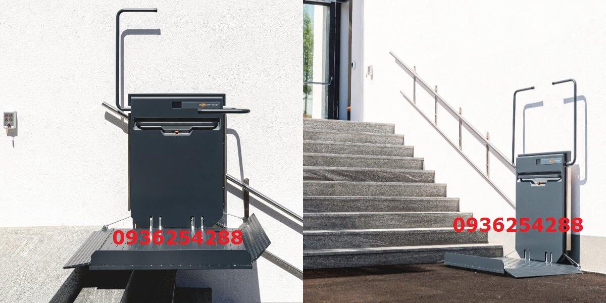Thang nâng xe lăn Platform