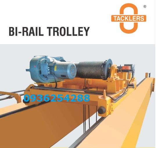 Tời điện dầm đơn 2 tấn Bi-Rail Trolley Ấn Độ