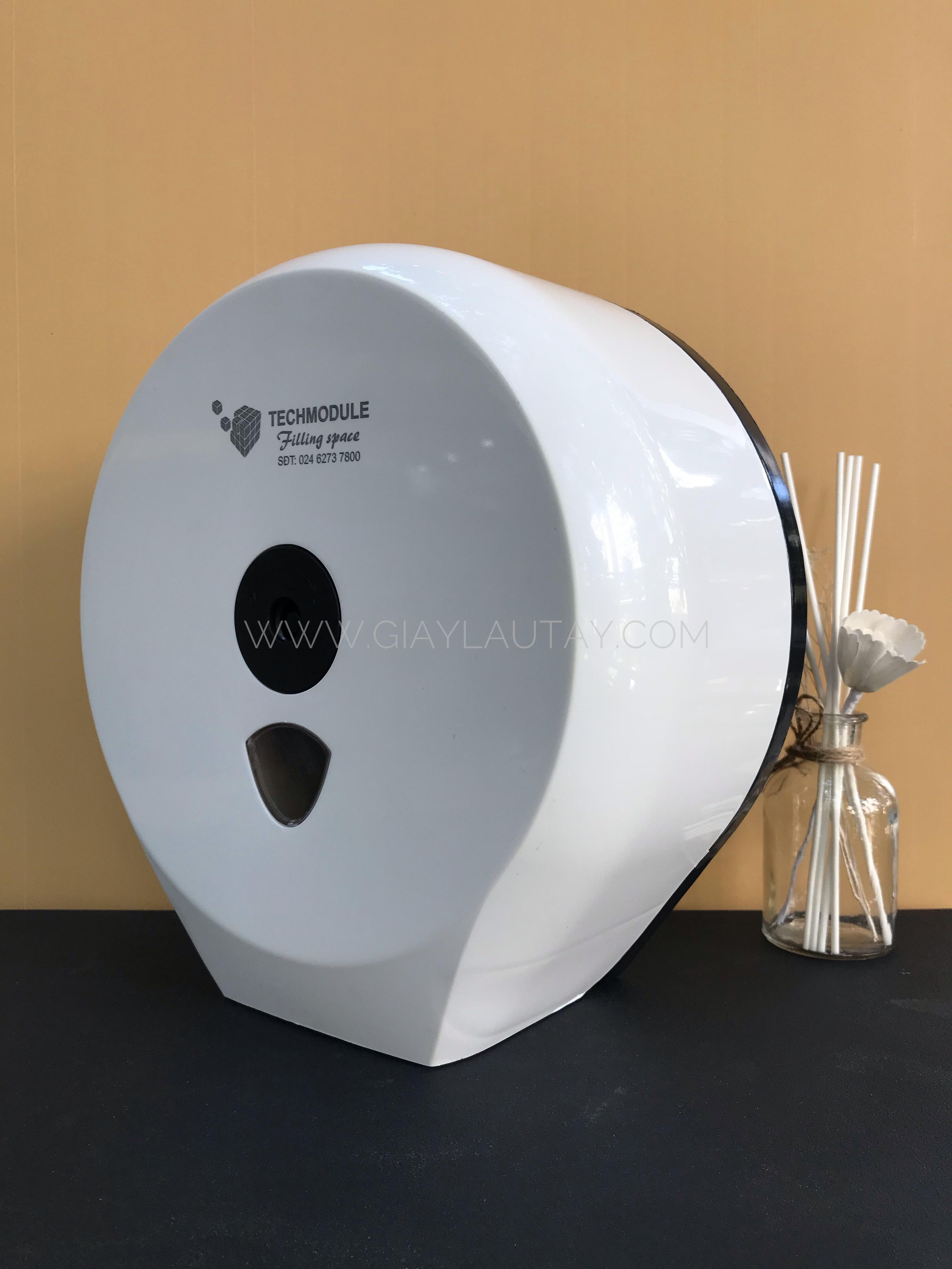 Hộp đựng giấy vệ sinh cuộn lớn hãng Techmodule TM-3023A