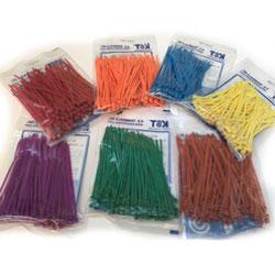 Dây rút nhựa màu (3.6x150mm) - Hàng nhập khẩu