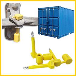 Kẹp chì cối niêm phong 7mm container, xe tải