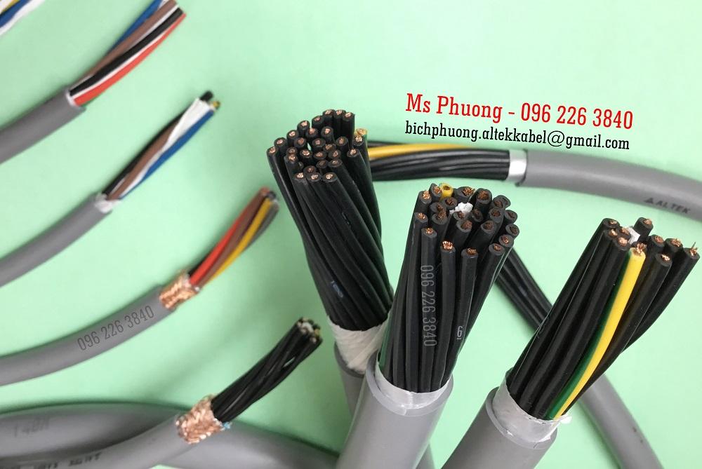 Cáp điều khiển, cáp điện 5x1.5sqmm Cu/Pvc/Pvc