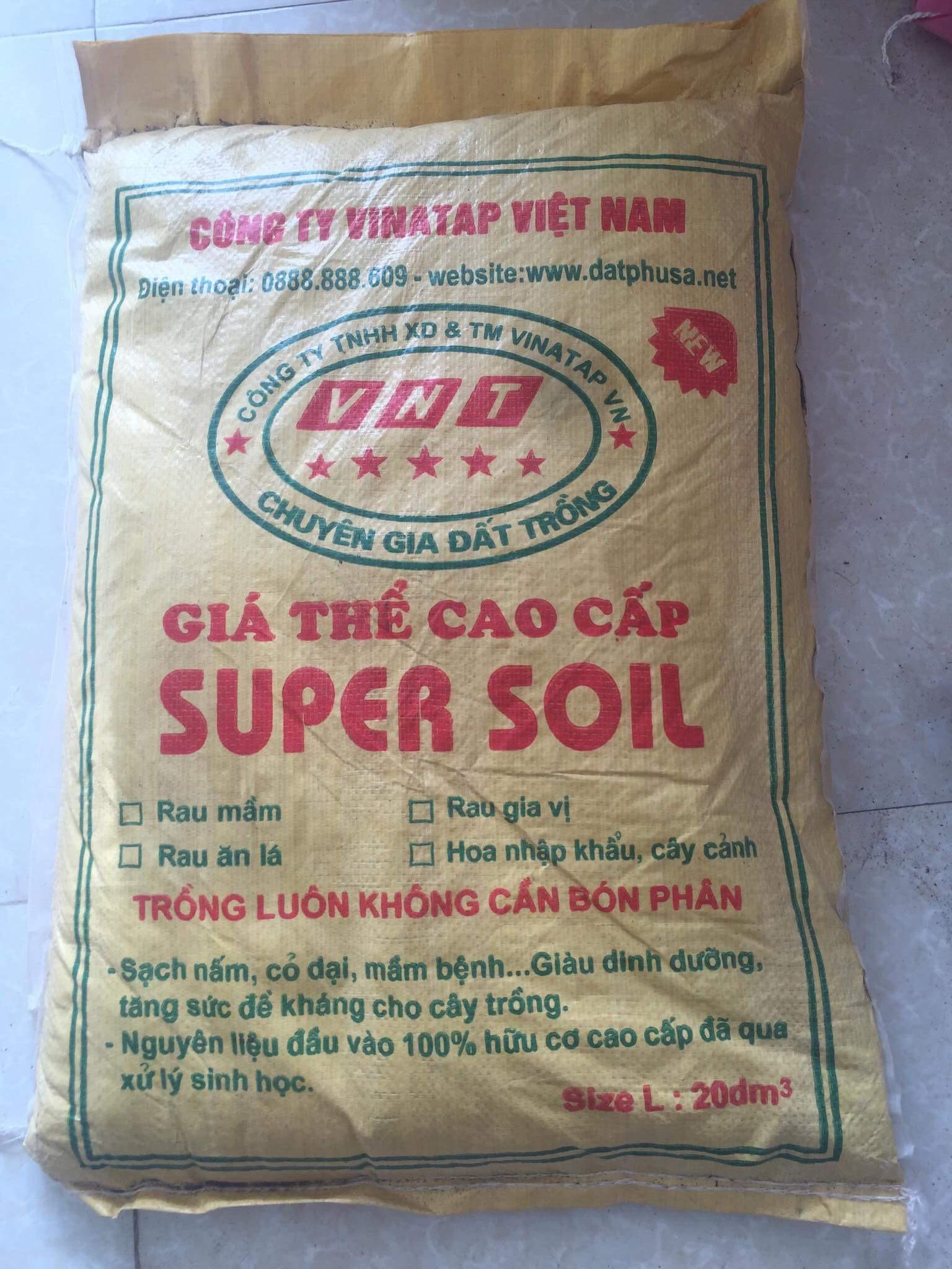Giá thể cao cấp Super soil