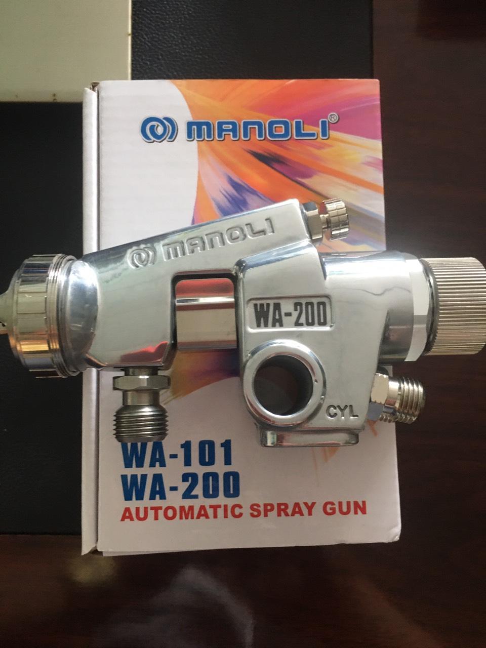 Súng phun sơn tự động MANOLI WA-200