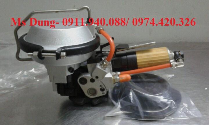 Máy siết đai thép 3 trong 1 dùng khí nén KZ-19 (Dây đai 16mm- 19mm)