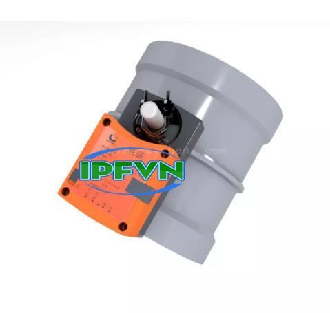 Van điện khí PP/ PVC loại điều khiển phản hồi