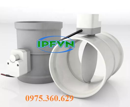 Van khí điện PP/ PVC